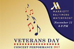 Veterans Day Concert Performance Poster