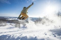 Snowboarding at Wisp