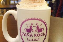 mug of java rock cocoa