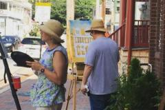 Plein Air painters participate in Paint It! Ellicott City