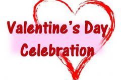 Valentine's Day Celebration poster