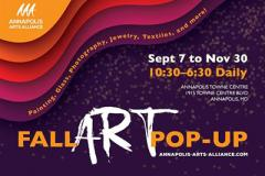Annapolis Arts Alliance Fall Pop Up