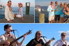 People attending the Boatyard Beach Bash with Musicians