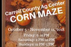 Carroll County Ag Center's Corn Maze