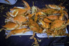 bowl of crabs
