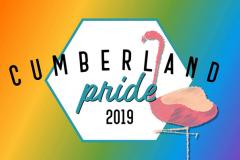 Cumberland Pride 2019 logo