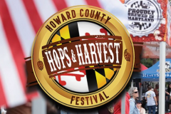 Howard County Hops & Harvest Festival logo
