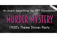 Murder Mystery 1920's Theme Dinner Party