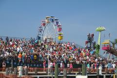 Crowds at the National Hard Crab Derby