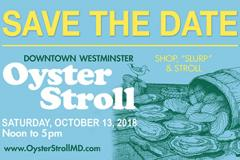 Oyster Stroll 2018 Poster