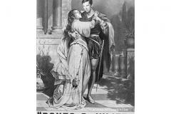 Ink Drawing of Romeo and Juliet