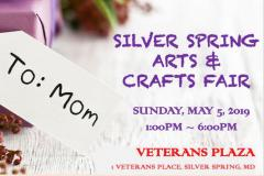Silver Spring Arts & Crafts Fair poster