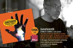 Cover to Stanley Cowell's Juneteenth CD