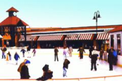 Glen Burnie Town Center Outdoor Ice Skating