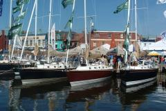 The Annapolis Sailboat Show is the largest and oldest in-water sailboat show on earth.