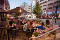Dine al fresco on a spectacular weekend away in National Harbor.