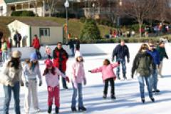 Quiet Waters park Outdoor Ice Rink