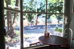 table by window