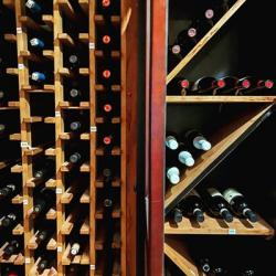 Wine Refrigerator at Cafe Troia Photo