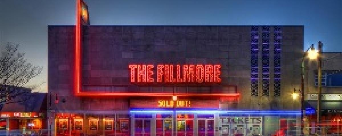 Fillmore Theater at night