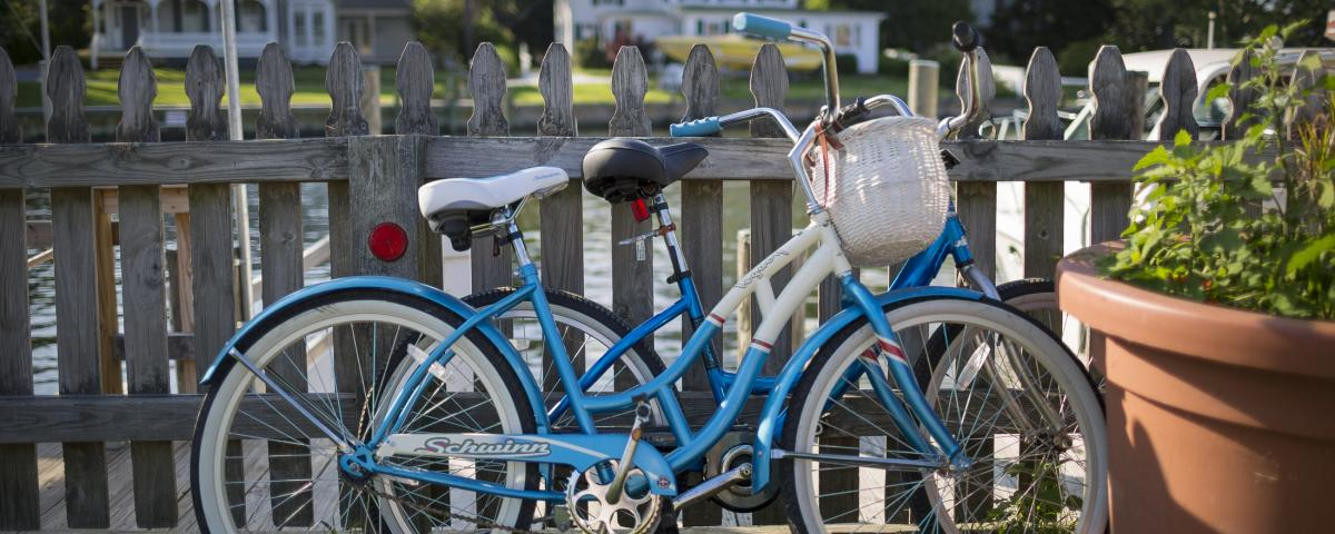 Waterfront Bikes in St. Michaels