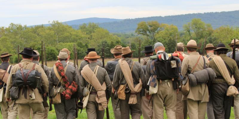 Park living history programs at Antietam National Battlefield provide a glimpse into the lives of Civil War soldiers.