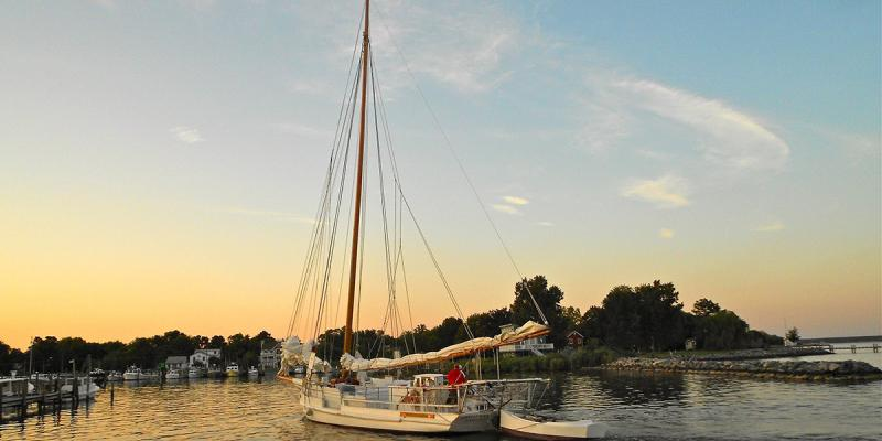 Tilghman Island offers skipjack cruises, gracious inns and bed and breakfasts, and fine local cuisine.