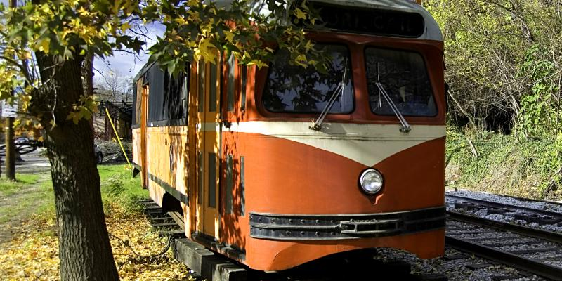 Ride on an authentic streetcar and live Baltimore nostalgia at the Baltimore Streetcar Museum.