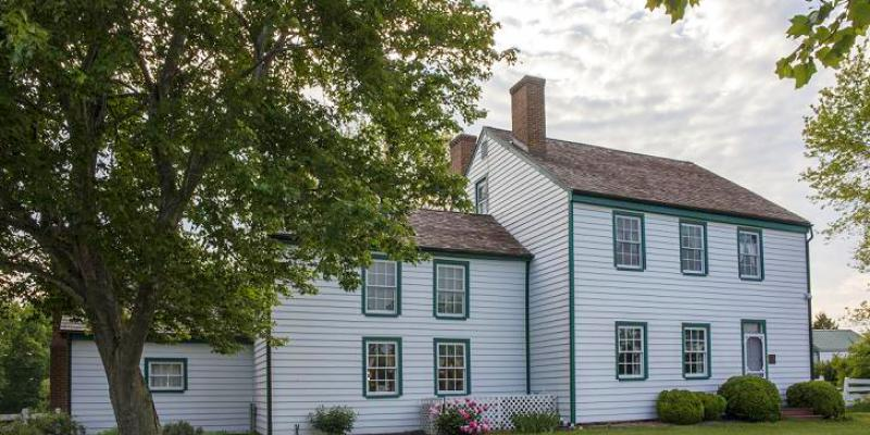 John Wilkes Booth came to Dr. Samuel A. Mudd's home in Waldorf on April 15, 1865. Mudd set Booth's broken leg, and Booth spent the night here. Dr. Mudd's home is now a museum.