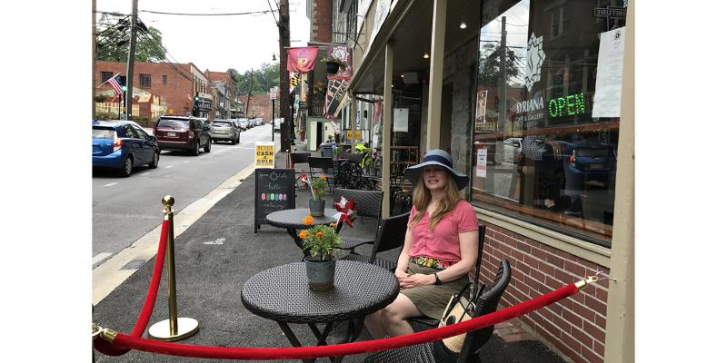Friendly people in quaint towns are easy to find along the Historic National Road, including at one of the many unique spots in Ellicott City.
