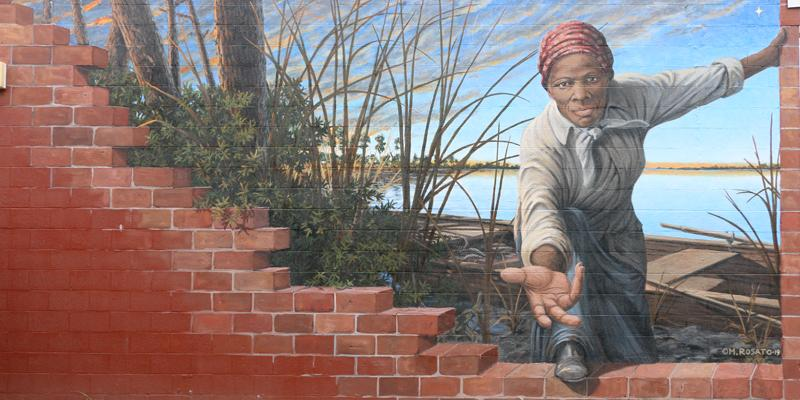 Harriet Tubman Wall Painting