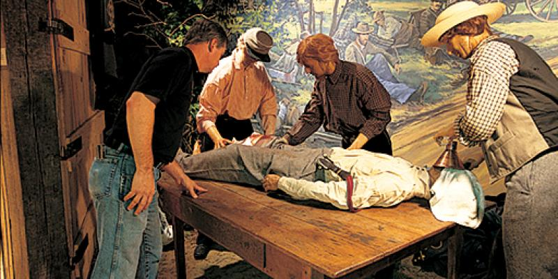 At the National Museum of Civil War Medicine in Frederick, explore how local citizens and nurses, united by compassion, cared for the wounded, while doctors developed medical innovations.