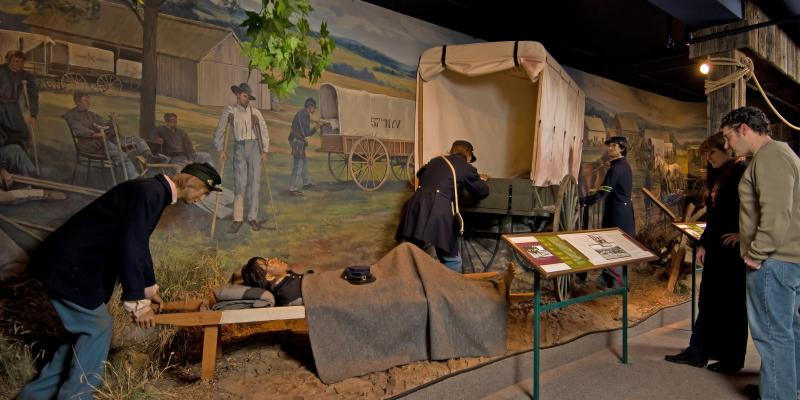 Immersive exhibits at the National Museum of Civil War Medicine in Frederick reveal stories of humanitarianism and medical innovation during our nation's greatest conflict.