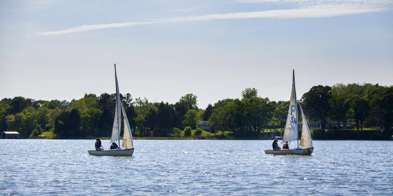 Sailing in Leonardtown