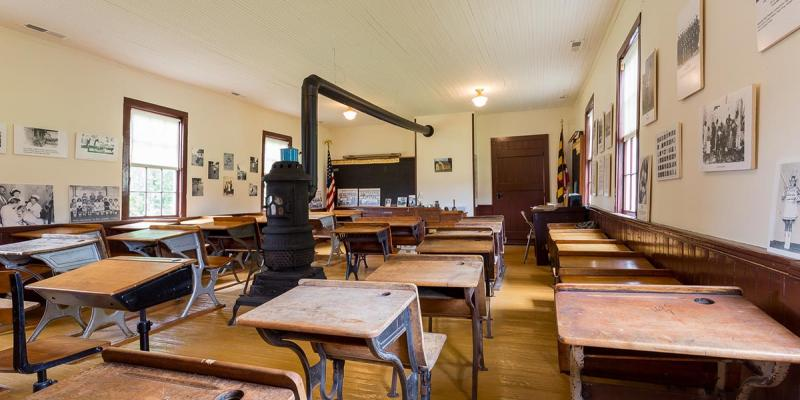 The Stanley Institute is an early example of an African-American school built and run independently by the local black community during the years between the Civil War and the Civil Rights Movement. It is open to visitors by appointment.