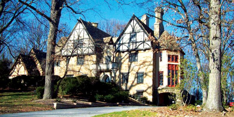 High on a hill in Lutherville, a grand medieval-inspired castle known as The Cloisters is available for rental for special events.