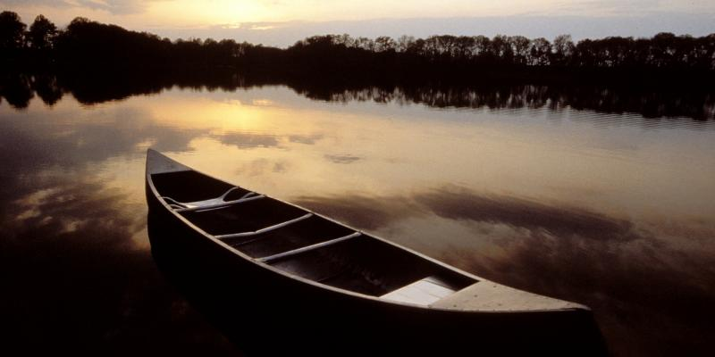 Canoeing at Tuckahoe State Park