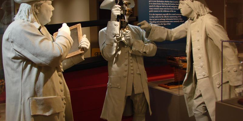 Dive into the history of seapower and the development of the U.S. Navy at the U.S. Naval Academy Museum in Annapolis. Historical artifacts and displays explore stories about the men and women who have served their country at sea.