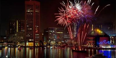 Baltimore is explosive all times of the year, including during the annual 4th of July festivities.