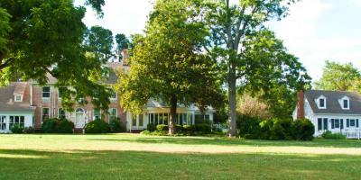 Brick Inn with large lawn