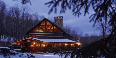 Savage River Lodge in winter