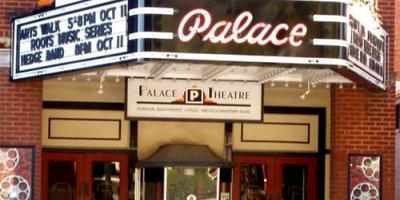 Vintage brick theatre