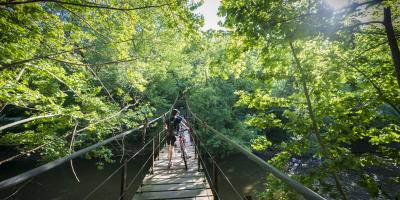 Central Maryland is filled with opportunities to get outdoors and enjoy biking, hiking and watersports.