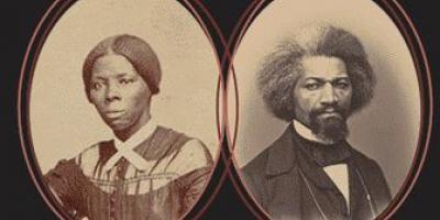 Harriet Tubman and Frederick Douglass