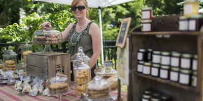 Baked Goods for Sale at Ellicott City Farmer's Market