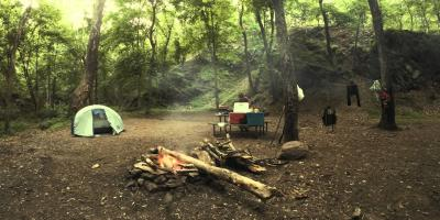 Camping at Green Ridge State Forest