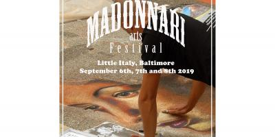 Madonnari Arts Festival Poster for 2019