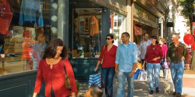 Frederick's 50-block historic district offers more than 100 stores including antiques shops.