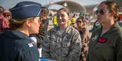 Thunderbird Pilot signing photo